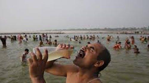 難得到印度 不喝聖水非好漢?